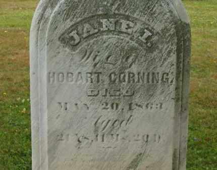CORNING, HOBART - Lorain County, Ohio | HOBART CORNING - Ohio Gravestone Photos