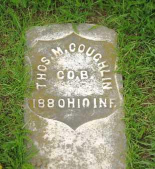 COUGHLIN, THOS. M. - Lorain County, Ohio | THOS. M. COUGHLIN - Ohio Gravestone Photos