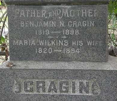 WILKINS CRAGIN, MARIA - Lorain County, Ohio | MARIA WILKINS CRAGIN - Ohio Gravestone Photos