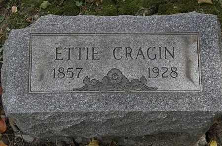 CRAGIN, ETTIE - Lorain County, Ohio   ETTIE CRAGIN - Ohio Gravestone Photos