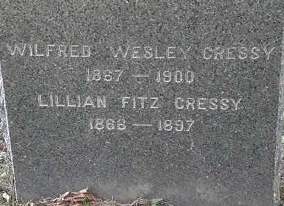 FITZ CRESSY, LILLIAN - Lorain County, Ohio | LILLIAN FITZ CRESSY - Ohio Gravestone Photos