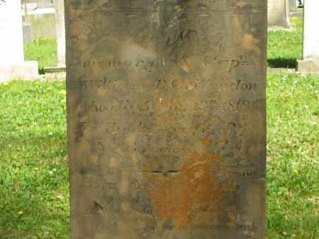 CRITTENDON, WILLIAM B. - Lorain County, Ohio | WILLIAM B. CRITTENDON - Ohio Gravestone Photos