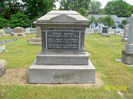 CROCKER, LUCY L. - Lorain County, Ohio | LUCY L. CROCKER - Ohio Gravestone Photos