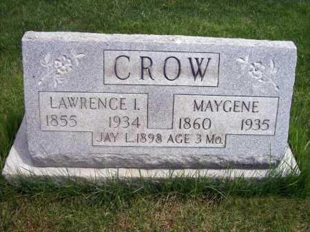 CROW, JAY - Lorain County, Ohio | JAY CROW - Ohio Gravestone Photos