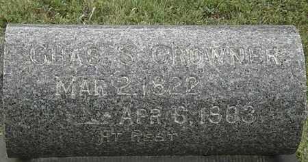CROWNER, CHAS. S. - Lorain County, Ohio | CHAS. S. CROWNER - Ohio Gravestone Photos