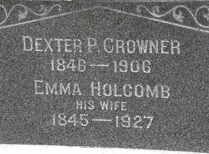 HOLCOMB CROWNER, EMMA - Lorain County, Ohio | EMMA HOLCOMB CROWNER - Ohio Gravestone Photos