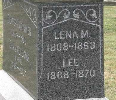 CROWNER, LENA M. - Lorain County, Ohio | LENA M. CROWNER - Ohio Gravestone Photos