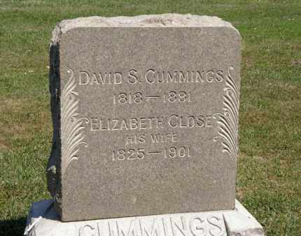 CLOSE CUMMINGS, ELIZABETH - Lorain County, Ohio | ELIZABETH CLOSE CUMMINGS - Ohio Gravestone Photos
