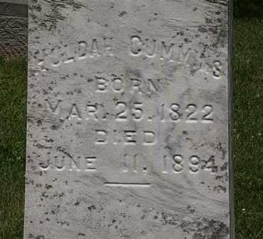 CUMMINS, HULDAH - Lorain County, Ohio   HULDAH CUMMINS - Ohio Gravestone Photos