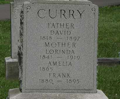 CURRY, AMELIA - Lorain County, Ohio | AMELIA CURRY - Ohio Gravestone Photos