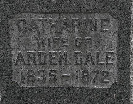 DALE, CATHARINE - Lorain County, Ohio | CATHARINE DALE - Ohio Gravestone Photos