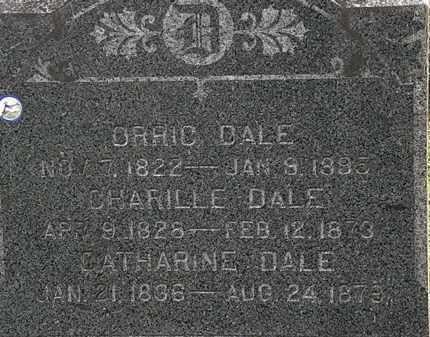 DALE, CHARLIE - Lorain County, Ohio | CHARLIE DALE - Ohio Gravestone Photos