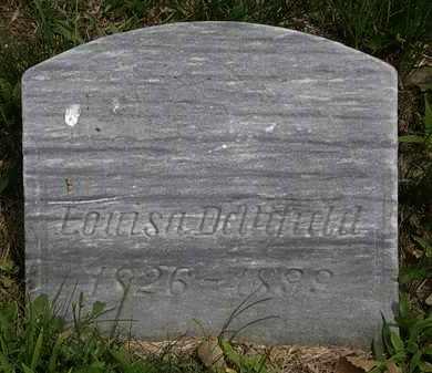 DELLIFIELD, LOUISA - Lorain County, Ohio | LOUISA DELLIFIELD - Ohio Gravestone Photos