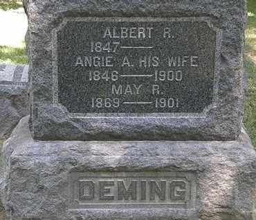 DEMING, ANGIE A. - Lorain County, Ohio | ANGIE A. DEMING - Ohio Gravestone Photos