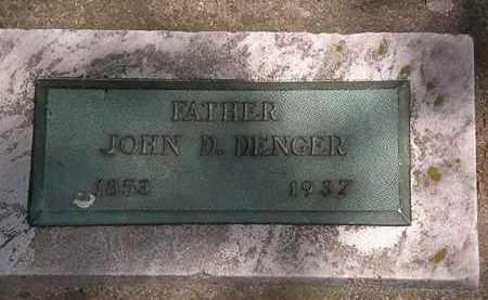DENGER, JOHN D. - Lorain County, Ohio   JOHN D. DENGER - Ohio Gravestone Photos