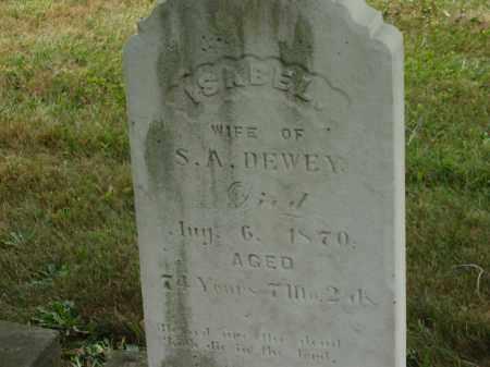 DEWEY, ISABEL - Lorain County, Ohio | ISABEL DEWEY - Ohio Gravestone Photos