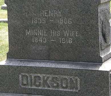 DICKSON, HENRY - Lorain County, Ohio   HENRY DICKSON - Ohio Gravestone Photos