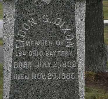 DIXON, ELDON G. - Lorain County, Ohio | ELDON G. DIXON - Ohio Gravestone Photos