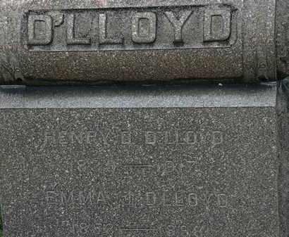 D'LLOYD, EMMA - Lorain County, Ohio | EMMA D'LLOYD - Ohio Gravestone Photos