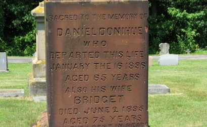 DONIHUE, DANIEL - Lorain County, Ohio | DANIEL DONIHUE - Ohio Gravestone Photos