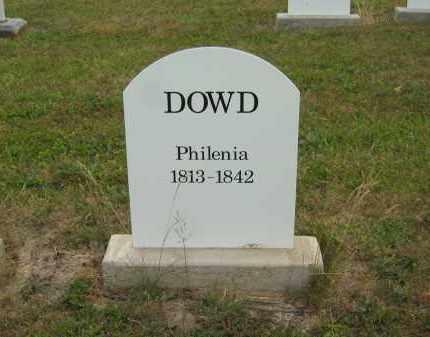 DOWD, PHILENIA - Lorain County, Ohio | PHILENIA DOWD - Ohio Gravestone Photos