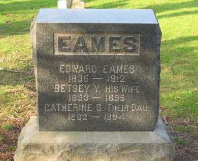 EAMES, EDWARD - Lorain County, Ohio | EDWARD EAMES - Ohio Gravestone Photos