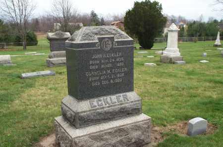 ECKLER, JOHN H. - Lorain County, Ohio | JOHN H. ECKLER - Ohio Gravestone Photos