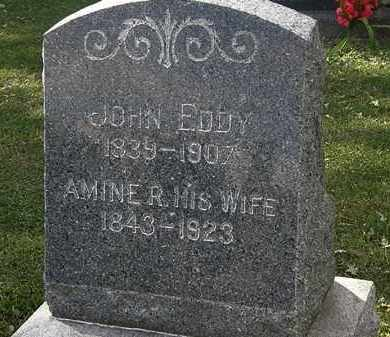 EDDY, JOHN - Lorain County, Ohio | JOHN EDDY - Ohio Gravestone Photos