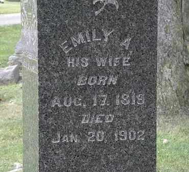 EDWARDS, EMILY A. - Lorain County, Ohio | EMILY A. EDWARDS - Ohio Gravestone Photos