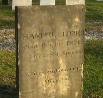 ELDRED, SAMUEL - Lorain County, Ohio   SAMUEL ELDRED - Ohio Gravestone Photos