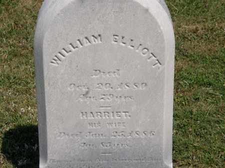 ELLIOT, WILLIAM - Lorain County, Ohio | WILLIAM ELLIOT - Ohio Gravestone Photos