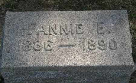 E#MMONS, FANNIE E. - Lorain County, Ohio | FANNIE E. E#MMONS - Ohio Gravestone Photos