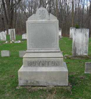 FAMILY, BOYNTON - Lorain County, Ohio | BOYNTON FAMILY - Ohio Gravestone Photos