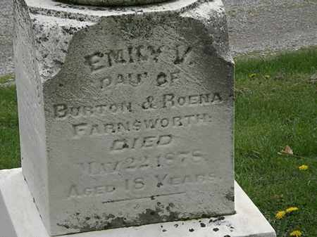 FARNSWORTH, BURTON - Lorain County, Ohio | BURTON FARNSWORTH - Ohio Gravestone Photos