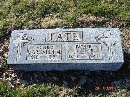 FATE, MARGARET M. - Lorain County, Ohio   MARGARET M. FATE - Ohio Gravestone Photos