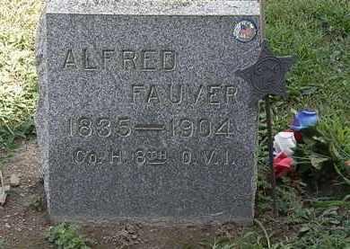 FAUVER, ALFRED - Lorain County, Ohio | ALFRED FAUVER - Ohio Gravestone Photos