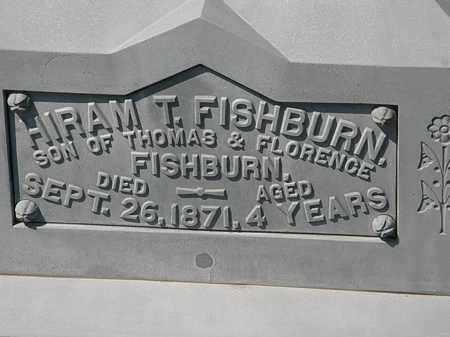 FISHBURN, HIRAM T. - Lorain County, Ohio | HIRAM T. FISHBURN - Ohio Gravestone Photos