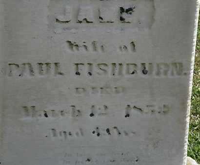 FISHBURN, JANE - Lorain County, Ohio   JANE FISHBURN - Ohio Gravestone Photos