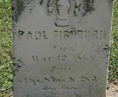 FISHBURN, PAUL - Lorain County, Ohio | PAUL FISHBURN - Ohio Gravestone Photos