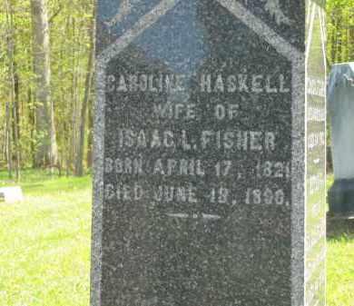 HASKELL FISHER, CAROLINE - Lorain County, Ohio   CAROLINE HASKELL FISHER - Ohio Gravestone Photos