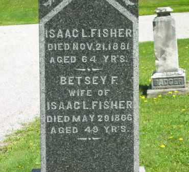 FISHER, ISAAC L. - Lorain County, Ohio | ISAAC L. FISHER - Ohio Gravestone Photos