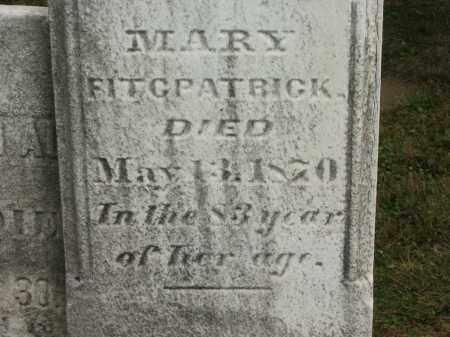 FITCPATRICK, MARY - Lorain County, Ohio | MARY FITCPATRICK - Ohio Gravestone Photos