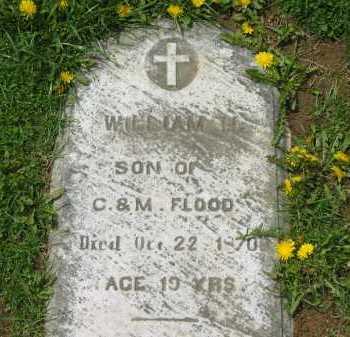FLOOD, WILLIAM H. - Lorain County, Ohio | WILLIAM H. FLOOD - Ohio Gravestone Photos