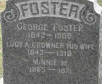 FOSTER, LUCY A. - Lorain County, Ohio | LUCY A. FOSTER - Ohio Gravestone Photos