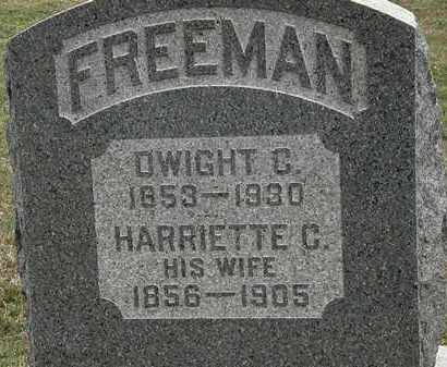 FREEMAN, HARRIETTE C. - Lorain County, Ohio | HARRIETTE C. FREEMAN - Ohio Gravestone Photos