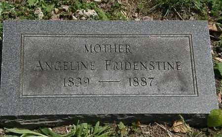 FRIDENSTINE, ANGELINE - Lorain County, Ohio   ANGELINE FRIDENSTINE - Ohio Gravestone Photos