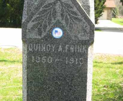 FRINK, QUINCY A. - Lorain County, Ohio | QUINCY A. FRINK - Ohio Gravestone Photos