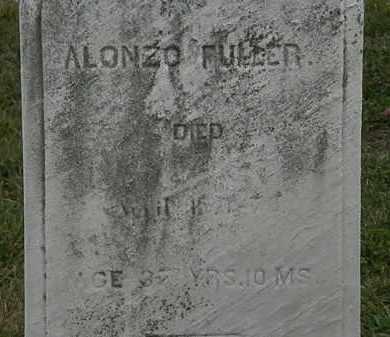 FULLER, ALONZO - Lorain County, Ohio | ALONZO FULLER - Ohio Gravestone Photos