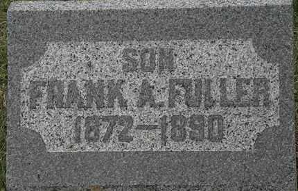 FULLER, FRANK A. - Lorain County, Ohio | FRANK A. FULLER - Ohio Gravestone Photos