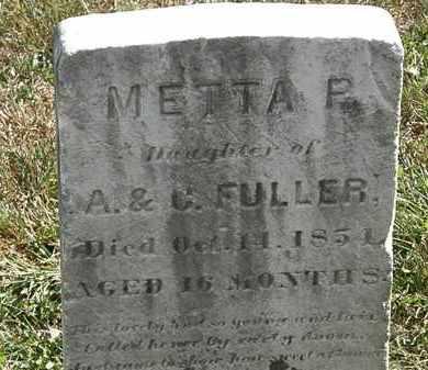 FULLER, A. - Lorain County, Ohio | A. FULLER - Ohio Gravestone Photos
